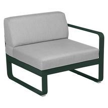 Bellevie 1 Seater Right Module - Cedar Green/Flannel Grey