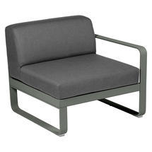 Bellevie 1 Seater Right Module - Rosemary/Graphite Grey