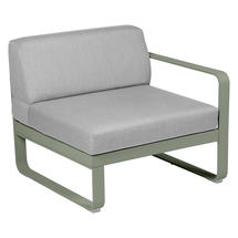 Bellevie 1 Seater Right Module - Cactus/Flannel Grey