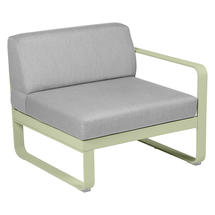 Bellevie 1 Seater Right Module - Willow Green/Flannel Grey