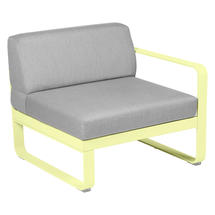 Bellevie 1 Seater Right Module - Frosted Lemon/Flannel Grey