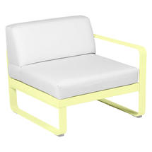 Bellevie 1 Seater Right Module - Frosted Lemon/Off White