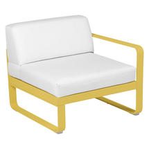 Bellevie 1 Seater Right Module - Honey/Off White