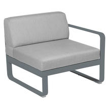 Bellevie 1 Seater Right Module - Storm Grey/Flannel Grey