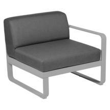 Bellevie 1 Seater Right Module - Steel Grey/Graphite Grey