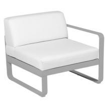 Bellevie 1 Seater Right Module - Steel Grey/Off White