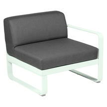 Bellevie 1 Seater Right Module - Ice Mint/Graphite Grey