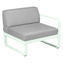 Bellevie 1 Seater Right Module - Ice Mint/Off White