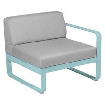 Bellevie 1 Seater Right Module - Lagoon Blue/Flannel Grey