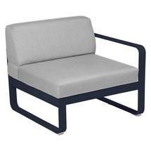 Bellevie 1 Seater Right Module - Deep Blue/Flannel Grey