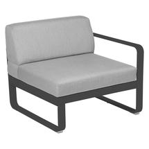 Bellevie 1 Seater Right Module - Anthracite/Flannel Grey