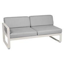 Bellevie 2 Seater Left Module - Clay Grey/Flannel Grey