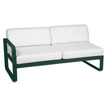 Bellevie 2 Seater Left Module - Cedar Green/Off White