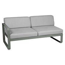 Bellevie 2 Seater Left Module - Rosemary/Flannel Grey