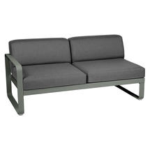 Bellevie 2 Seater Left Module - Rosemary/Graphite Grey