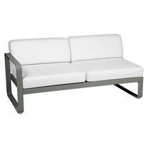 Bellevie 2 Seater Left Module - Rosemary/Off White