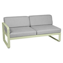 Bellevie 2 Seater Left Module - Willow Green/Flannel Grey
