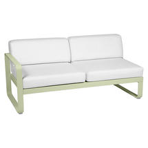 Bellevie 2 Seater Left Module - Willow Green/Off White