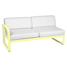 Bellevie 2 Seater Left Module - Frosted Lemon/Off White