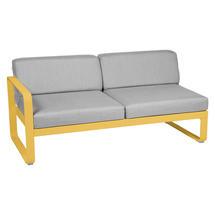 Bellevie 2 Seater Left Module - Honey/Flannel Grey