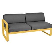 Bellevie 2 Seater Left Module - Honey/Graphite Grey
