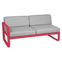 Bellevie 2 Seater Left Module - Pink Praline/Flannel Grey