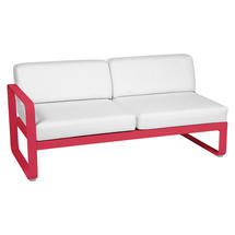 Bellevie 2 Seater Left Module - Pink Praline/Off White