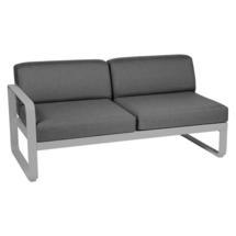 Bellevie 2 Seater Left Module - Steel Grey/Graphite Grey