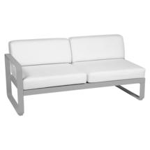 Bellevie 2 Seater Left Module - Steel Grey/Off White