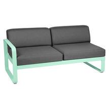 Bellevie 2 Seater Left Module - Opaline Green/Graphite Grey