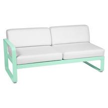 Bellevie 2 Seater Left Module - Opaline Green/Off White