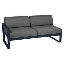 Bellevie 2 Seater Left Module - Deep Blue/Graphite Grey