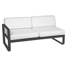 Bellevie 2 Seater Left Module - Anthracite/Off White