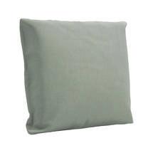 50cm x 50cm Deco Scatter Cushion - Fife Canvas Grey