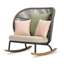 Kodo Rocking Chair Frame - Fossil Grey
