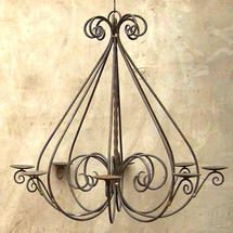 Rusted Baroque Chandelier - Large