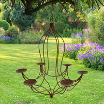 Rusted Tudor Style Chandelier - Small