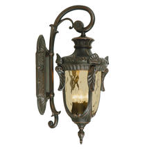 Philadelphia Outdoor Large Down Wall Lantern - Old Bronze
