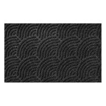Turtle Mat - Waves Slate Grey