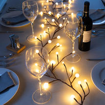 Light Up Berry Branch Garland