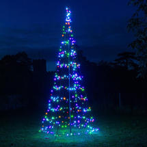 Northern Stars Outdoor Colour Change LED Tree - 3m