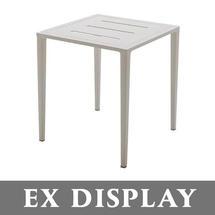 Vista Side Table - Alu Top White