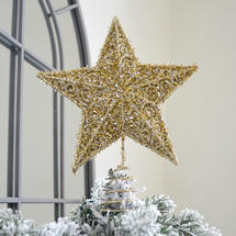 Star Tree Topper - Old Gold