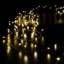 Copper Bare Wire Cluster Micro 720 LED Tree Garland