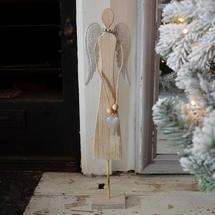 Heart Felt Christmas Wishes Angel Decoration