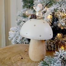 Santa's Magic Mushroom Decoration