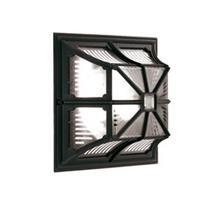 Chapel Flush Lantern - Black