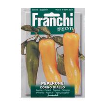 Pepper Corno Giallo Seeds