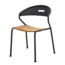 Curve Stacking Chair Teak - Meteor