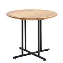 Whirl 90cm Dining Table Teak  - Meteor
